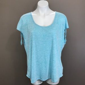 COLUMBIA Short Sleeve Top Size 1X